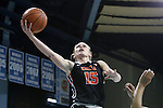 16 December 2014: Oregon State's Jamie Weisner. The University of North Carolina Tar Heels hosted the Oregon State University Beavers at Carmichael Arena in Chapel Hill, North Carolina in a 2014-15 NCAA Division I Women's Basketball game. Oregon State won the game 70-55.