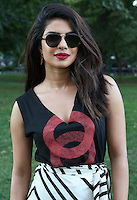 NEW YORK, NY - SEPTEMBER 24, 2016 Priyanka Chopra backstage at the Global Citizen Festival, September 24, 2016 in New York City. Photo Credit: Walik Goshorn / Mediapunch