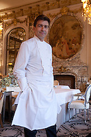 Chef Yannick Allleno - Three Michelin stars - Hotel le Meurice, Paris.