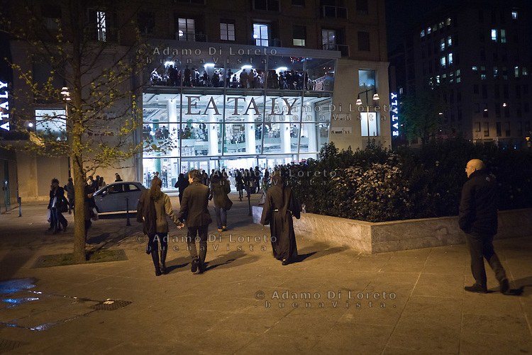 Esterno del nuovo edificio di Eataly a Milano. 21 Marzo 2014. Photo: Adamo Di Loreto/BuenaVista*photo