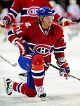 31 March 2010: Montreal Canadiens' left wing forward Sergei Kostitsyn warms up prior to a game against the Carolina Hurricanes at the Bell Centre in Montreal, Quebec, Canada. The Hurricanes defeated the Canadiens 2-1 in their last meeting of the regular season. Mandatory Credit: Ed Wolfstein Photo