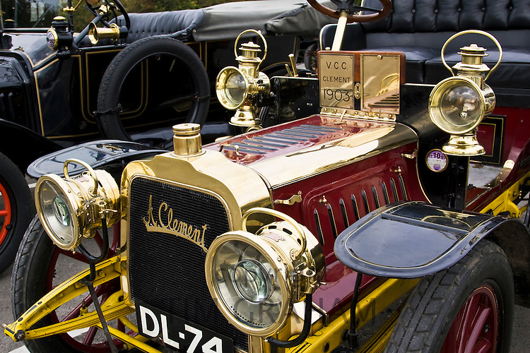 1903 Clément-Bayard vintage car, Gloucestershire, United Kingdom
