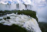 Iguazu Falls, Iguazu National Park, Parana State, Brazil