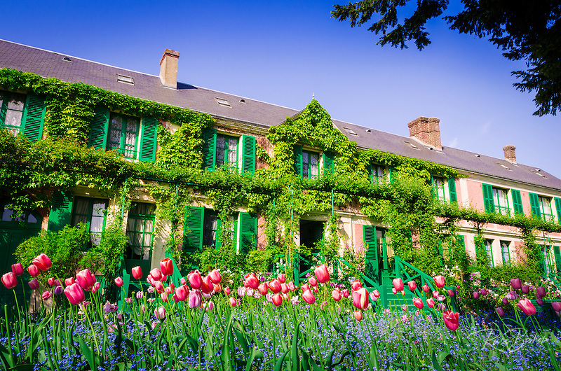 Claude Monet House And Gardens Giverny France Russ