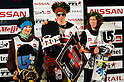 Torstein Horgmo [centre] who finished in 1st Place. On the left is 2nd Place boarder, Peetu Piroinen of Finland and, on the right, Sean White of America who finished third.