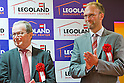 June 14, 2012, Tokyo, Japan - Lego Group owner Kjeld Kirk Kristiansen (left) and CEO of Lego Group Jogen Vig Knudstorp (right) attend the opening ceremony for the LEGOLAND Discovery Center Tokyo. The LEGOLAND Discovery Center contains over 3 million LEGO bricks in-house, a 4D movie theater, iconic city land marks of Tokyo all made of LEGO, and a interactive laser ride. The discovery center will open to the general public on June 15, 2012. (Photo by Christopher Jue/AFLO)