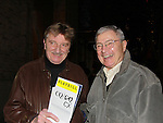 02-03-12 Larry Bryggman in CQ/CX and Don Hastings came to see the show - Peter Norton Space, NYC