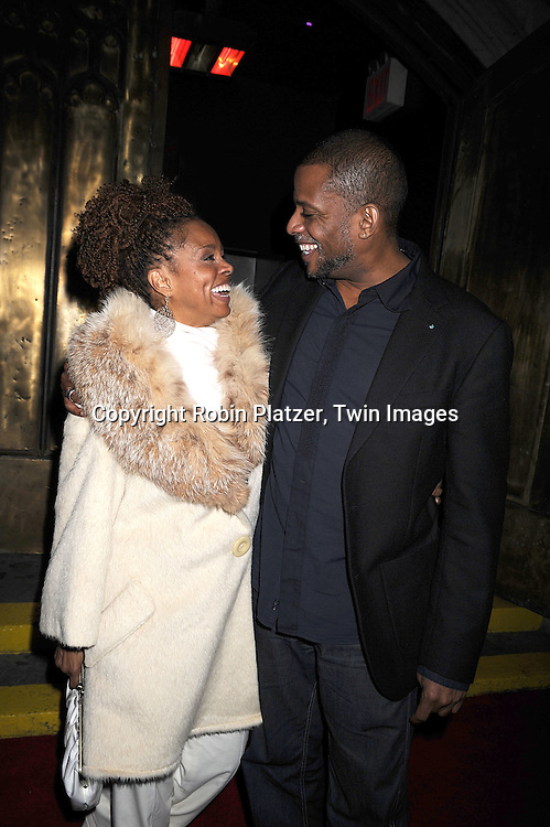 Debbi Morgan and Darnell Williams.at The All My Children Christmas Party on December 20, 2007 at Arena in New York City. .Robin Platzer, Twin Images