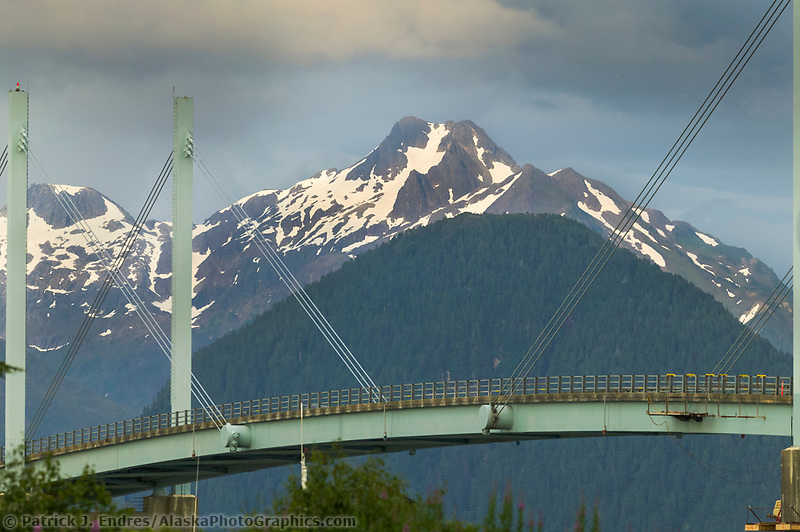 John W. O'Connell Bridge. Connects Japonski Island where Sitka's airport and Coast Guard Station are located. The bridge is named for a former mayor of Sitka, Alaska