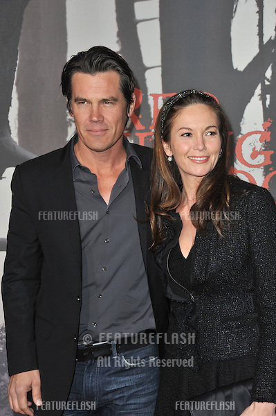 """Josh Brolin & Diane Lane at the Los Angeles premiere of """"Red Riding Hood"""" at Grauman's Chinese Theatre, Hollywood..March 7, 2011  Los Angeles, CA.Picture: Paul Smith / Featureflash"""