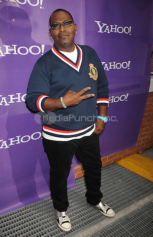 Randy Jackson attends the It's Y!ou Yahoo! yodel competition at Military Island, Times Square  in New York City. October 13, 2009. Credit: Dennis Van Tine/MediaPunch