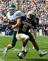 16 September 2006: Michigan State tight end Kellen Davis (80)..The Michigan State Spartans defeated the Pitt Panthers 38-23 on September 16, 2006 at Heinz Field, Pittsburgh, Pennsylvania.