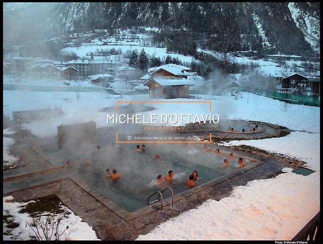 Terme st didier michele d 39 ottavio photo library - Hotel con piscine termali all aperto ...