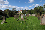 St Aidans church graveyard, Kirkbymoorside, North Yorkshire, England. Sep 2007.