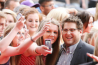 22/6/2010. Get Him to the Greek Irish Premiere. Jonah Hill is pictured arriving at the Savoy Cinema Dublin for the Irish Premiere of Get Him to the Greek. Picture James Horan/Collins Photos