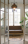 1824 R Street Washington DC Artists Inn sun room with glass french doors