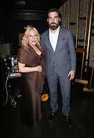 Hollywood, CA - February 19: Michele Elyzabeth, Zachary Quinto At 3rd Annual Hollywood Beauty Awards_Inside, At Avalon Hollywood In California on February 19, 2017. Credit: Faye Sadou/MediaPunch