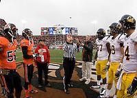 California Golden Bears vs Oregon State Beavers October 30 2010