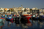 The fishing harbour of Arguineguin, Gran Canaria, Canary Islands, Spain.