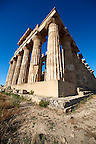 Greek Dorik Temple ruins of Temple F at Selinunte, Sicily photography, pictures, photos, images &amp; fotos. 35