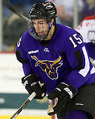 J.P. Burkemper (Mankato - 15) - The visiting Minnesota State University-Mankato Mavericks defeated the University of Massachusetts-Lowell River Hawks 3-2 on Saturday, November 27, 2010, at Tsongas Arena in Lowell, Massachusetts.