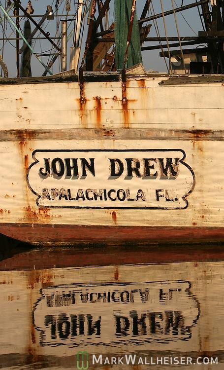 Shrimp boats still dominate the Apalachicola waterfront on the Apalachicola River in Apalachicola, Florida.    (Mark Wallheiser/TallahasseeStock.com)