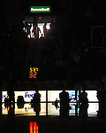 "The main lights at the C.M. ""Tad"" Smith Coliseum go off with 5:37 to go in the first half during the Mississippi vs. Arkansas game in Oxford, Miss. on Saturday, January 19, 2013. (AP Photo/Oxford Eagle, Bruce Newman)"