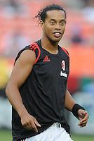 AC Milan forward Ronaldinho (80) DC United defeated AC. Milan 3-2 at RFK Stadium, Wednesday May 26, 2010.