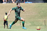 20 September 2015: Stetson's Joseph Alamo. The Campbell University Camels hosted the Stetson University Hatters at Eakes Athletics Complex in Buies Creek, NC in a 2015 NCAA Division I Men's Soccer game. Campbell won the game 1-0.