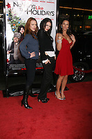 "Erin Cummings, Julia Voth, and America Olivo arriving at the Premiere of ""Nothing Like the Holidays"" at the Grauman's Chinese Theater in Hollywood, CA.December 3, 2008.©2008 Kathy Hutchins / Hutchins Photo...."