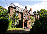 BNPS.co.uk (01202 558833)<br /> Pic: BNPS.co.uk<br /> <br /> Hardy's home Max Gate is also in the town of Dorchester.<br /> <br /> A historic hotel that provided the inspiration for one of author Thomas Hardy's most famous novels has been saved from financial ruin and is to be restored to its former glory.<br /> <br /> The Kings Arms in Dorchester, Dorset, featured prominently in Hardy's 1886 novel The Mayor of Casterbridge, a tale of a drunken man who sells his wife and daughter and is then reunited with them years later when he is a mayor. <br /> <br /> The central character, Michael Henchard, carried out his official business at the Georgian hotel and Hardy went into great detail in his description of the frontage of the iconic building.<br /> <br /> The Grade II listed former coaching inn was closed last year after the company that owned it went into receivership. It was bought by Stay Original Company, which owns and runs a a number of historic boutique hotels in the west country. <br /> <br /> The firm plan to return and restore plenty of its 18th century original features and show what it was like in Hardy's day.