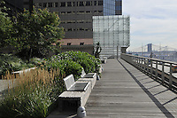 Elevated Acre, plaza, 55 Water Street, New York City, New York, USA, Rogers Marvel Architects and Ken Smith Landscape Architect