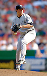 17 June 2006: Scott Proctor, pitcher for the New York Yankees, in action against the Washington Nationals at RFK Stadium, in Washington, DC. The Nationals overcame a seven run deficit to win 11-9 in the second game of the interleague series...Mandatory Photo Credit: Ed Wolfstein Photo...