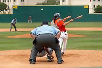 SAN ANTONIO, TX - MAY 19, 2007: The Texas State University Bobcats vs. The University of Texas at San Antonio Roadrunners Baseball at Roadrunner Field. (Photo by Jeff Huehn)