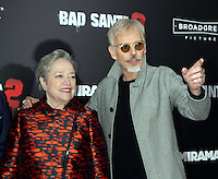 NEW YORK, NY November 15:Kathy Bates, Billy Bob Thornton at Broad Green Picture & Miramax's presents New York premiere of BAD SANTA 2 at AMC Loews Lincoln Square in New York City.November 15, 2016. Credit:RW/MediaPunch