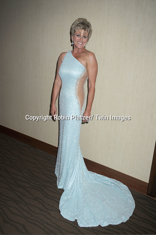 Judi Evans in Mark Zanino dress attends the  39th Annual Daytime Emmy Awards CBS after party  on June 23, 2012 at the Beverly Hilton in Beverly Hills, California. The awards were broadcast on HLN.