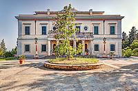 Mon Repos is a villa on the island of Corfu, Greece.