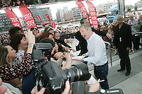 28/6/2010. The X Factor Judge Lois Walsh is pictured arriving at the Dublin Convention center Spencer Dock. Picture James Horan/Collins.