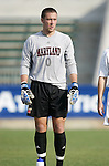 Maryland's Chris Seitz on Wednesday, November 9th, 2005 at SAS Stadium in Cary, North Carolina. The University of Maryland Terrapins defeated the Wake Forest University Demon Deacons 2-1 during their Atlantic Coast Conference Tournament Quarterfinal game.