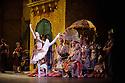 London, UK. 12.01.2016. English National Ballet present Le Corsaire, at the London Coliseum. Picture shows: Isabelle Brouwers (Odalisque). Photograph © Jane Hobson.