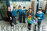 Mercy Mounthawk TY Students Raise Awareness Of Blindness and raised €1750. Pictured front l-r  Heidi Crean and Mary O'Connell back l-r Teacher Ann O'Shea Daly,  Alex Kelly, Sadbh Griffin, Rachel O'Regan