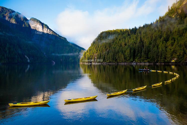 Misty Fjords National Monument, Rudyerd Bay, Inside Passage, Alaska, USA