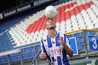 VOETBAL: HEERENVEEN: Abe Lenstra Stadion 02-01-2015, SC Heerenveen nieuwe speler Younes Namli (DEN), &copy;foto Martin de Jong<br /> Copyright