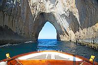 Tunnel of Love, Boat tour, Capri, Italy