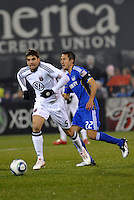Dejan Jakovic...Kansas City Wizards defeated D.C Utd 4-0 in their home opener at Community America Ballpark, Kansas City, Kansas.