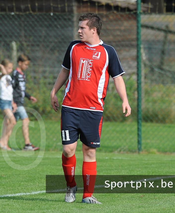 Ledegem - Avelgem :<br /> Avelgem : Martijn Stragier<br /> foto VDB / BART VANDENBROUCKE