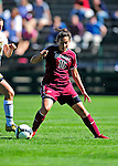 19 September 2010: Colgate University Raider forward/midfielder Christina Boni, a Junior from Burnt Hills, NY, in action against the University of Vermont Catamounts at Centennial Field in Burlington, Vermont. The Raiders scored a pair of second half goals two minutes apart to notch a 2-0 victory over the Lady Cats in non-conference women's soccer play. Mandatory Credit: Ed Wolfstein Photo
