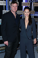 HOLLYWOOD, LOS ANGELES, CA, USA - NOVEMBER 10: Steve Waddington, Christina Chong arrive at the HaloFest - Halo: The Master Chief Collection Launch Event held at Avalon on November 10, 2014 in Hollywood, Los Angeles, California, United States. (Photo by Xavier Collin/Celebrity Monitor)