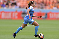 Houston, TX - The Houston Dash defeated the Chicago Red Stars 2-0 on Saturday April 15, 2017: Danielle Colaprico during a regular season National Women's Soccer League (NWSL) match at BBVA Compass Stadium.