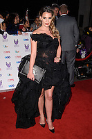 LONDON, UK. October 31, 2016: Danielle Lloyd at the Pride of Britain Awards 2016 at the Grosvenor House Hotel, London.<br /> Picture: Steve Vas/Featureflash/SilverHub 0208 004 5359/ 07711 972644 Editors@silverhubmedia.com